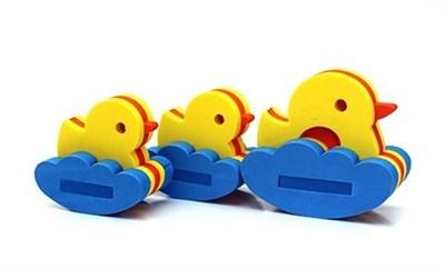 Игрушка-конструктор для купания Семейство уточек - фото 5385