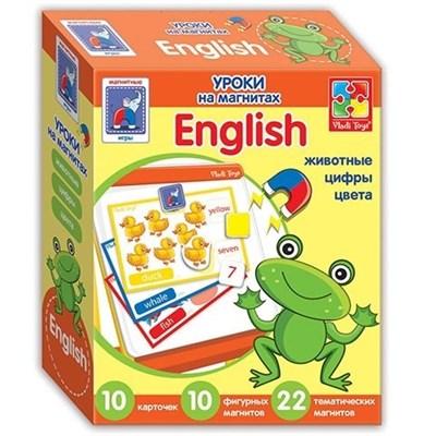 Уроки на магнитах English Животные - фото 5998