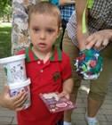 «Бумбарам» выступила спонсорами детского праздника для фонда «Без барьеров»