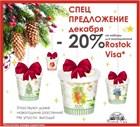 Спецпредложение декабря: — 20% от цены на все наборы Rostok Visa