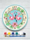 Часы-раскраски, которые можно собрать своими руками