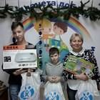 Благотворительная организация Планета Добра подарила подарки Бумбарам своим подопечным