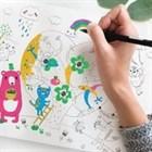 Чудо-новинка: многоразовые коврики-раскраски «Бумба»