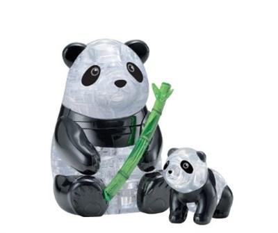 3D Головоломка Две панды - фото 10101