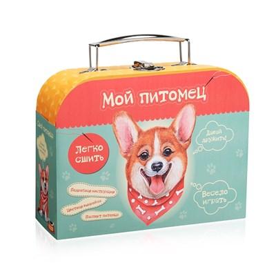 Набор для детского  творчества  Сшей игрушку  Щенок Корги - фото 10244