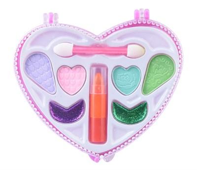 Детская декоративная косметика Карманный набор «Сердце» - фото 10568