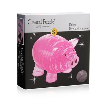 3D головоломка Копилка хрюшка розовая - фото 10698