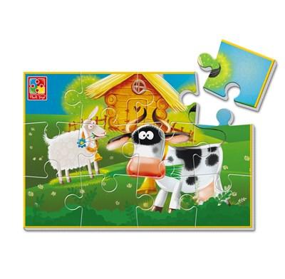 Мягкие пазлы А5 «Ферма» - фото 11275