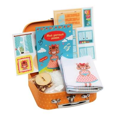 Игровой набор для детского творчества «Мой уютный домик» Кошечка - фото 11621