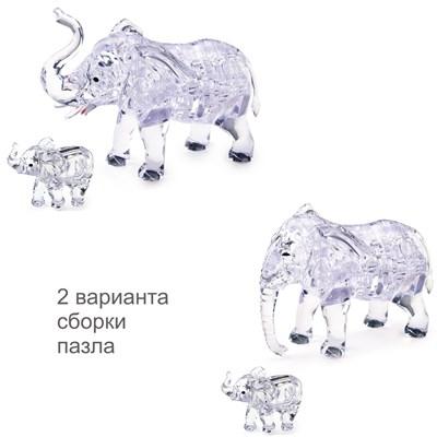 3D головоломка Два слона - фото 12130