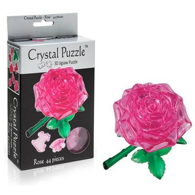3D головоломка Роза розовая - фото 12145