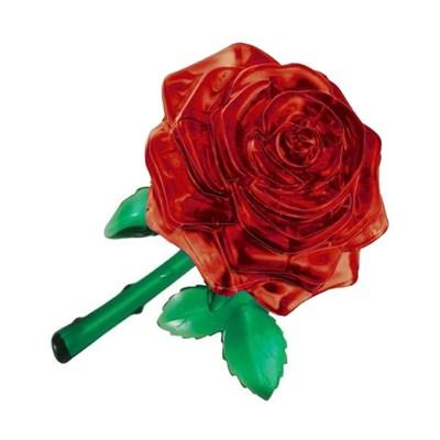 3D головоломка Роза красная - фото 12441