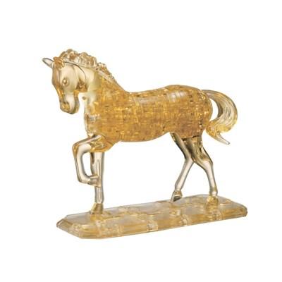 3D головоломка Лошадь золотая - фото 12444