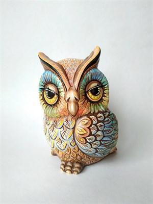 Керамическая фигурка-раскраска Филин - фото 12779