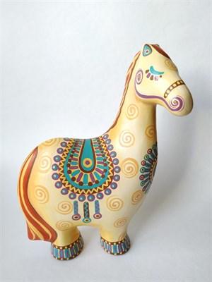 Керамическая фигурка-раскраска Лошадь - Купить оптом в ...