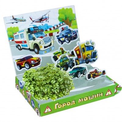 Детский развивающий набор для выращивания Город машин - фото 13389