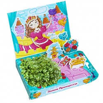 Детский развивающий набор для выращивания Замок принцессы - фото 13448