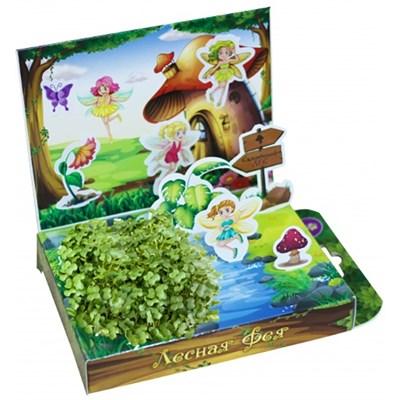 Детский развивающий набор для выращивания Лесная Фея - фото 13453