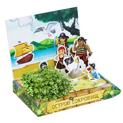 Детский развивающий набор для выращивания Остров сокровищ - фото 13458