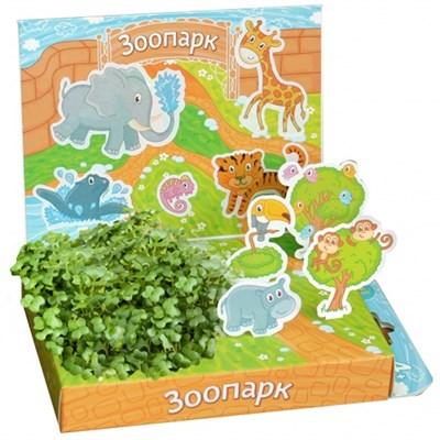 Детский развивающий набор для выращивания Зоопарк - фото 13475