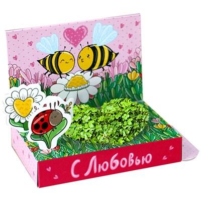 Подарочный набор Живая открытка С любовью! - фото 13528