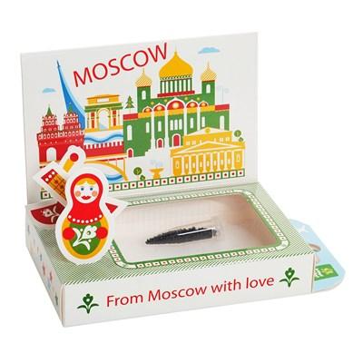 Подарочный набор Живая открытка  Москва №1 - фото 13556