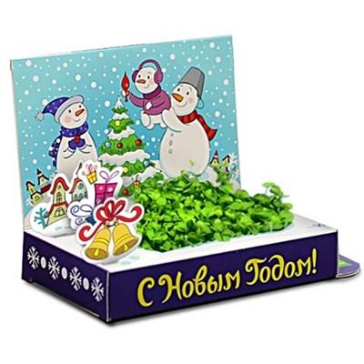 Подарочный набор Живая открытка Счастья в Новом году - фото 13573
