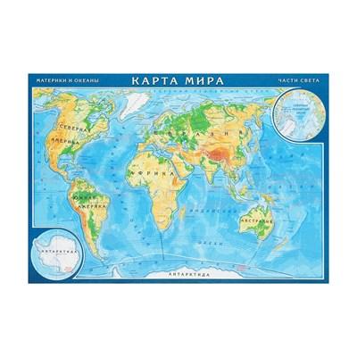 Географический  Пазл Карта мира - фото 14452