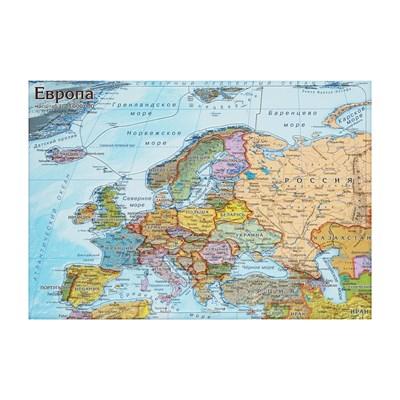 Географический Пазл Карта Европы - фото 14454