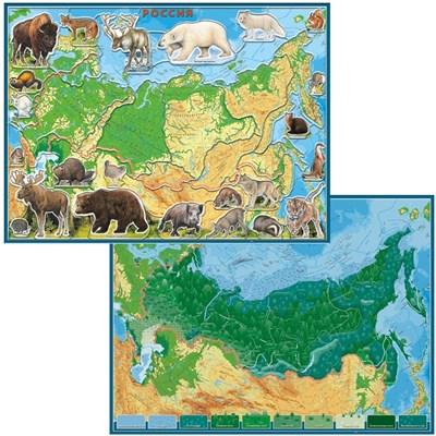 Географический пазл Животные и Природные Зоны РФ - фото 14875