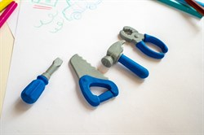 Набор Ластики-пазлы на блистере Инструменты - фото 14934