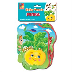 Мягкие пазлы Baby puzzle Сказки Репка - фото 15063