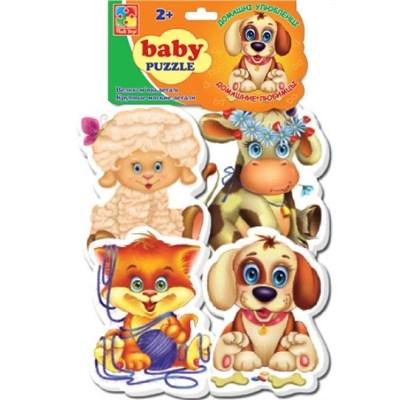 Мягкие пазлы Baby puzzle Домашние любимцы - фото 15166