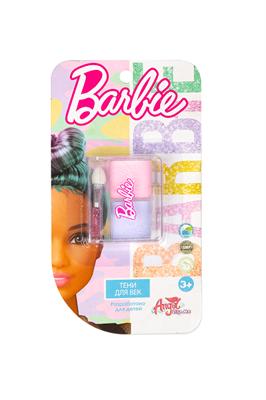 Детская декоративная косметика BARBIE. Тени для век (сиреневый/розовый) - фото 15496