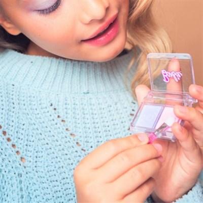 Детская декоративная косметика BARBIE. Тени для век (сиреневый/розовый) - фото 15499