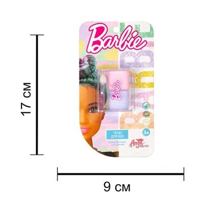 Детская декоративная косметика BARBIE. Тени для век (сиреневый/розовый) - фото 15500
