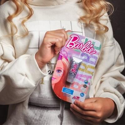 Детская декоративная косметика BARBIE. Блеск для лица Серебро - фото 15507