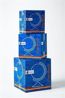 Глобус Земли физико-политический 320 мм с подсветкой Рельефный Классик - фото 15766
