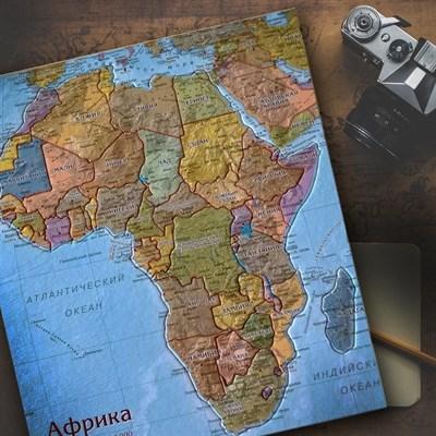 Карта-пазл Африка - фото 16702
