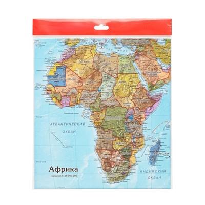Карта-пазл Африка - фото 16759