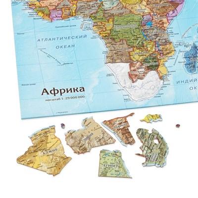 Карта-пазл Африка - фото 16762