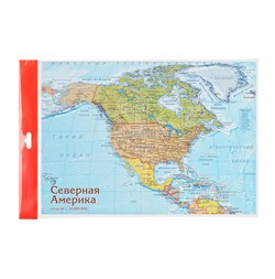 Карта-пазл Северная Америка - фото 16767