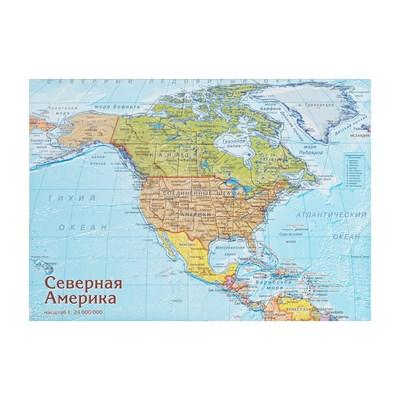 Карта-пазл Северная Америка - фото 16768