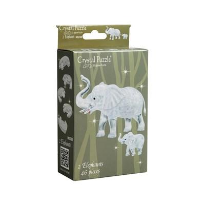 3D головоломка Два слона - фото 16793