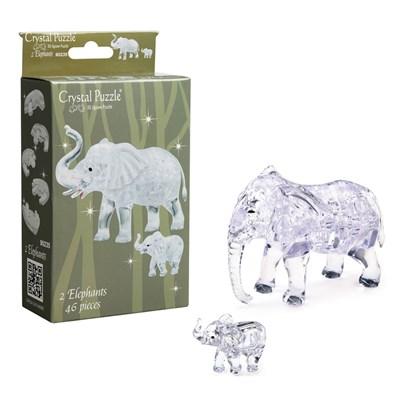 3D головоломка Два слона - фото 16794