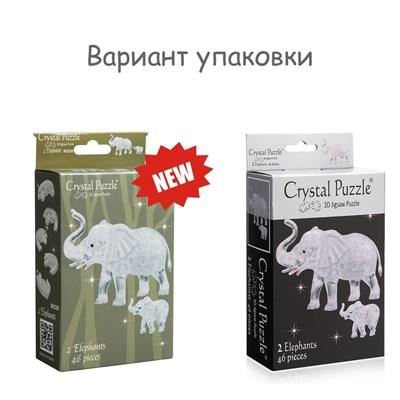 3D головоломка Два слона - фото 16795