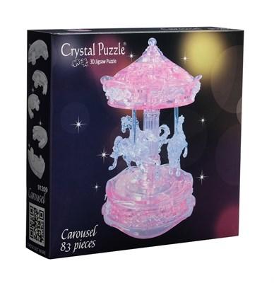 3D головоломка Карусель розовая - фото 16826