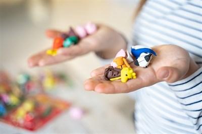 Набор Ластики-пазлы на блистере Домашние любимцы - фото 17131