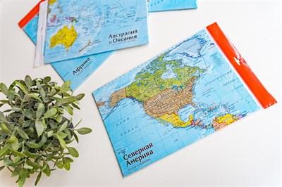 Карта-пазл Северная Америка - фото 17287