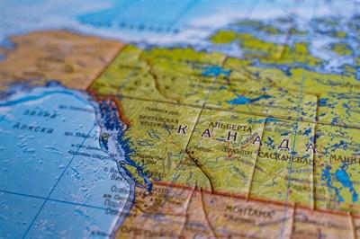 Карта-пазл Северная Америка - фото 17288